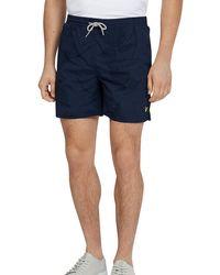 Lyle & Scott - Fern Print Swim Shorts - Lyst
