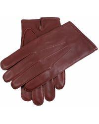 Dents - Plain Leather Gloves - Lyst