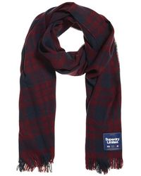Superdry - Capital Check Tassle Scarf - Lyst