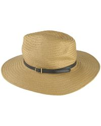 2e49cd7f434 Lyst - Barbour Women s Sealand Sun Hat in Red
