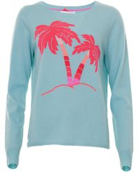 Cocoa Cashmere - Palm Tree Knit - Lyst