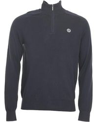 Henri Lloyd - Miller Regular Half-zip Knit Sweater - Lyst