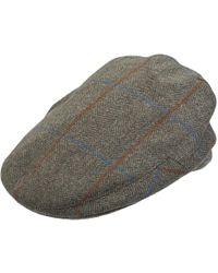 Olney - Kinloch Style Flat Cap - Lyst