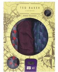 Ted Baker - Martin Printedboxer Short Set - Lyst
