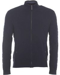 Ted Baker - Long Sleeve Geo Jacquard Funnel Neck - Lyst
