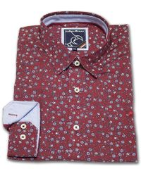 Raging Bull - Floral Print Shirt - Lyst