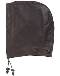 Barbour - Waxed Cotton Hood - Lyst
