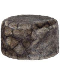 Dubarry - Avoca Pill Box Faux Fur Hat - Lyst