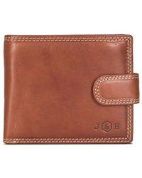 Jekyll & Hide - Texas 7 Card Rfid Flip Wallet - Lyst