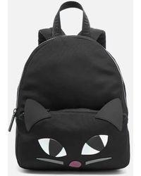 Lulu Guinness   Medium Kooky Cat Backpack   Lyst