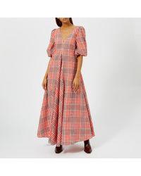 Ganni - Women's Charron Dress - Lyst