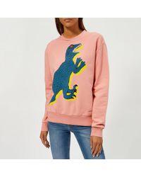 PS by Paul Smith - Women's Dino Sweatshirt - Lyst