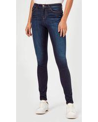 Emporio Armani - J20 High Rise Jeans - Lyst