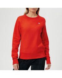 Champion - Women's Crew Neck Sweatshirt - Lyst