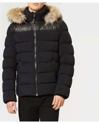 Mackage - Men's Ronin Leather Trim Down Jacket - Lyst