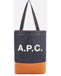 A.P.C. - Women's Axelle Shopper Bag - Lyst