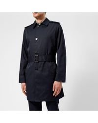 Aquascutum - Men's Camber Lightweight Sb Trench Coat - Lyst
