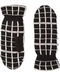 Becksöndergaard - Becksã¶ndergaard Women's Fukui Wool Mittens - Lyst