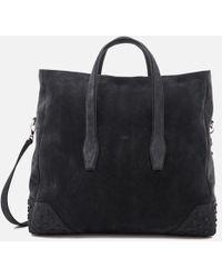 Tod's - Men's Suede Gommino Weekender Bag - Lyst