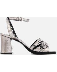 McQ - Women's Angel Eyelet Heel Sandals - Lyst
