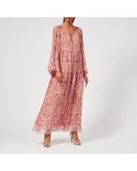 Zimmermann - Women's Castile Flared Sleeve Dress - Lyst