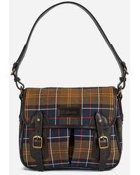 Barbour - Tartan Mini Tarras Shoulder Bag - Lyst