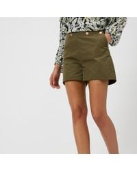 See By Chloé - Women's Smart Shorts - Lyst