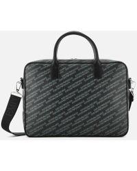 Emporio Armani - Big Briefcase - Lyst