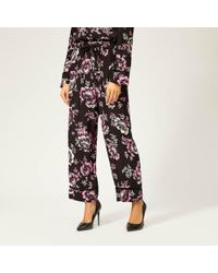 McQ - Women's Piping Pintuck Track Trousers - Lyst