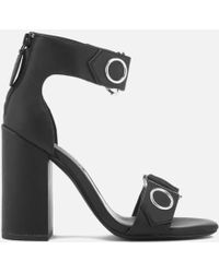 Senso - Women's Lala Leather Heeled Sandals - Lyst