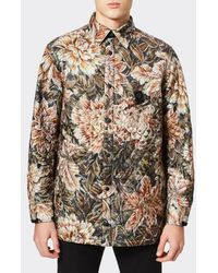 e2d13ecbb900 Y-3 - Y3 Men s All Over Print Quilted Shirt - Lyst