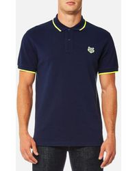 KENZO | Men's Slim Fit Polo Shirt | Lyst