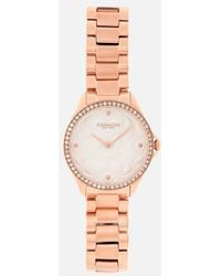 COACH - Women's Modern Sport Logo Face Watch - Lyst