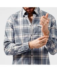 Barbour - Men's Elver Checked Shirt - Lyst
