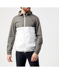 Emporio Armani - Men's Split Colour Blouson Jacket - Lyst