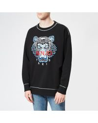 KENZO - Men's New Embroidered Tiger Sweatshirt - Lyst