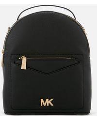 41e8ec420a9f MICHAEL Michael Kors Mini Jessa Leather Backpack in Yellow - Lyst