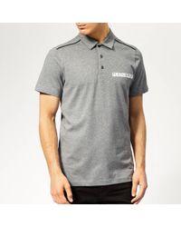 Philipp Plein - Statement Polo Shirt - Lyst