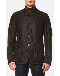 Barbour - Men's Beacon Sports Jacket - Lyst