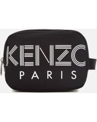KENZO - Toiletry Bag For Men On Sale - Lyst
