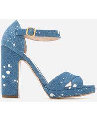 Rupert Sanderson - Women's Savanna Platform Heeled Sandals - Lyst