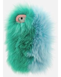 Charlotte Simone - Women's Phone Fluff Iphone Case - Lyst