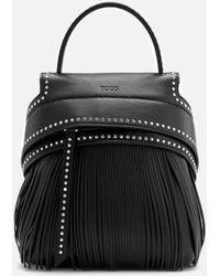 Tod's - Women's Fringe Backpack - Lyst