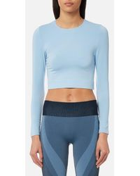 Varley - Vermont Long Sleeve Cropped Top - Lyst