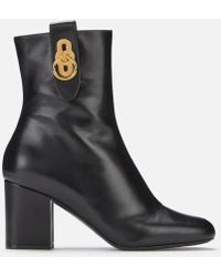Mulberry - Hardware Ankle Boots - Lyst