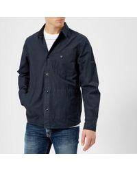 Barbour - International Men's Camber Overshirt - Lyst