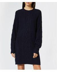 Polo Ralph Lauren - Women's Aran Knitted Dress - Lyst