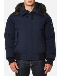 KENZO - Men's Fur Collar Short Coat - Lyst