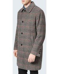 Maison Kitsuné - Men's Check Bill Classic Coat - Lyst