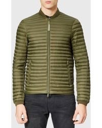 Emporio Armani - Men's Bomber Collar Padded Jacket - Lyst